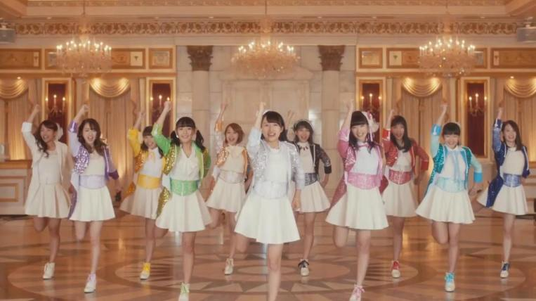 Super Girls Karei Naru Victory MV