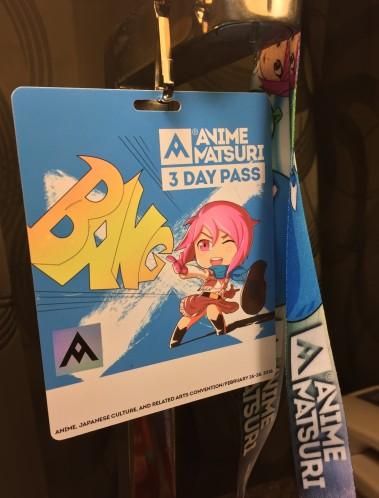 Morning Musume Anime Matsuri Badge 2016