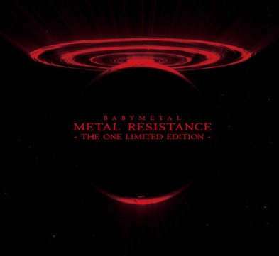 Babymetal Metal Resistance The One Cover Limited