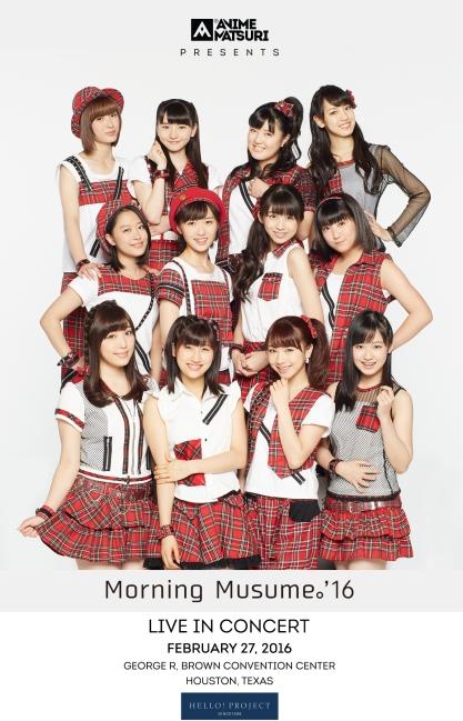 Morning Musume 16 Houston Anime Matsuri 2016