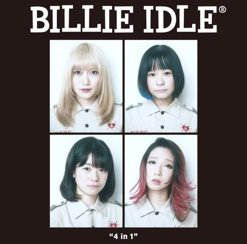 Billie Idle 4 in 1 Official Bootleg Cover
