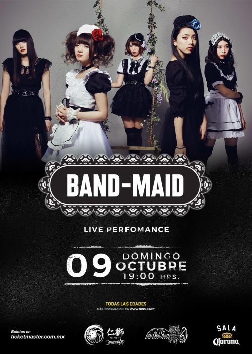 BAND-MAID Mexico