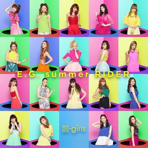 E-Girls E.G. summer RIDER