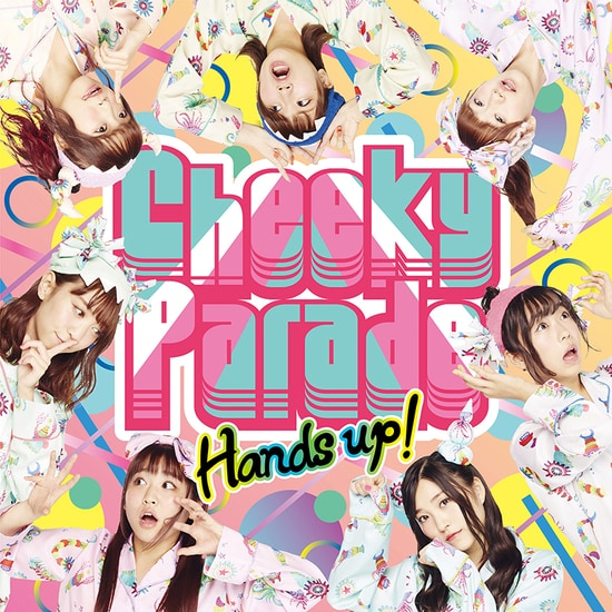 Cheeky Parade Hands up! CD Bluray