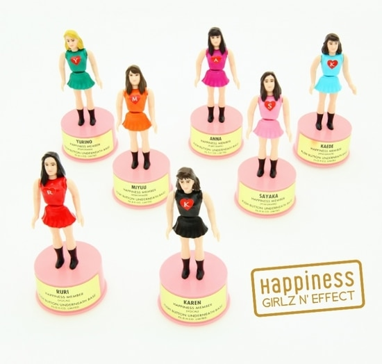 Happiness Girlz Effect DVD Blu-ray