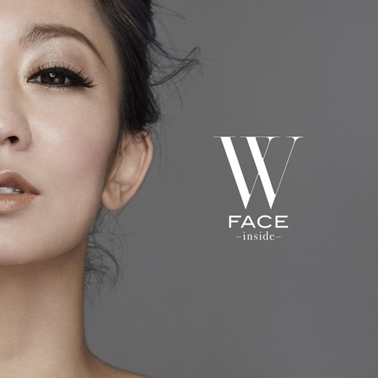 Koda Kumi W Face Inside cover