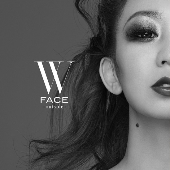 Koda Kumi W Face Outside cover