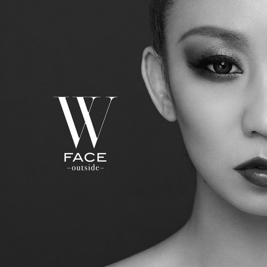 Koda Kumi W FACE outside cover CD Bluray