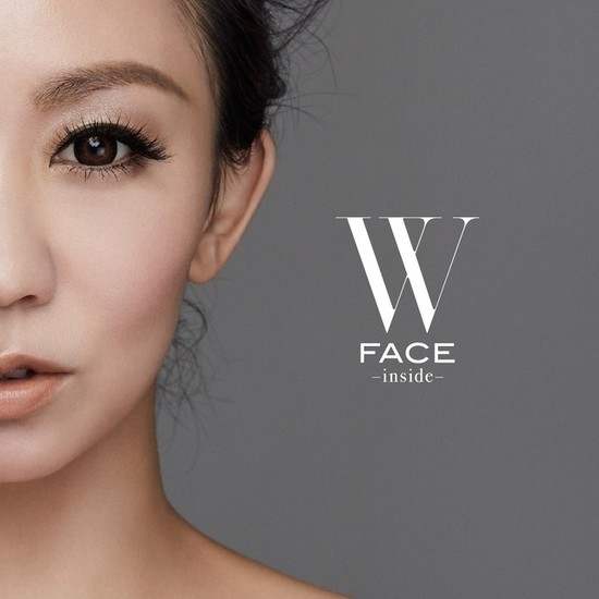 Koda Kumi W FACE inside cover CD Bluray
