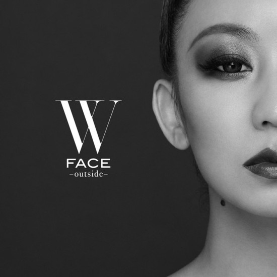 Koda Kumi W FACE outside cover CD