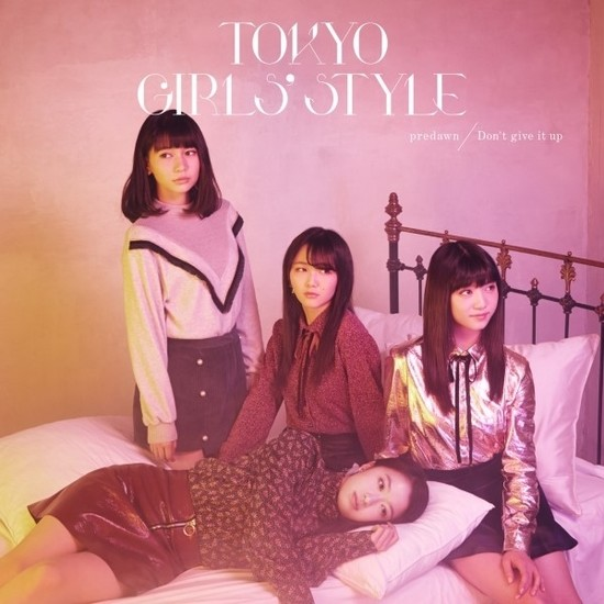 Tokyo Girls Style predawn Don't give it up Cover CD DVD