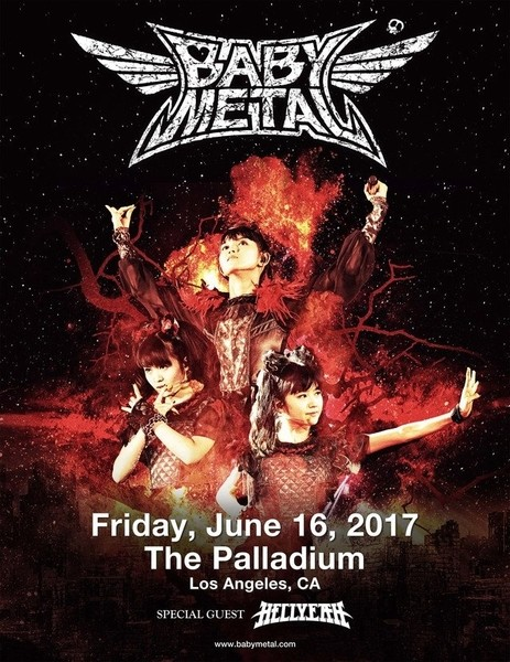 BABYMETAL Los Angeles Palladium