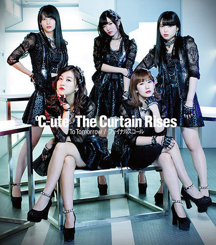 C-ute The Curtain Rises Cover Regular C