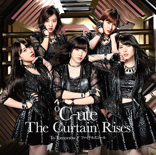 C-ute The Curtain Rises Cover Special