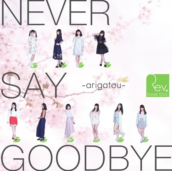 Rev.from DVL NEVER SAY GOODBYE -arigatou- Cover Type A