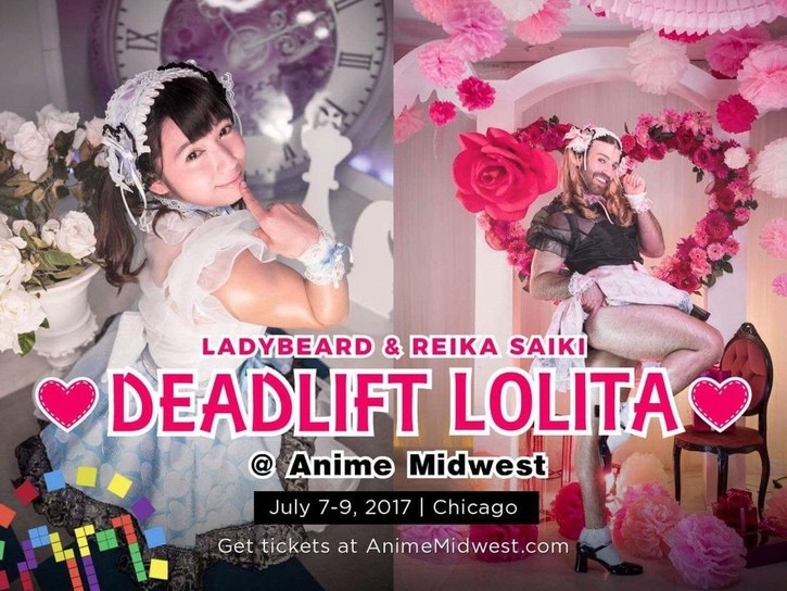 DEADLIFT LOLITA Anime Midwest Chicago