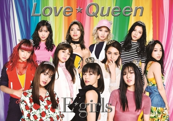 E-girls Love Queen Cover CD DVD PB
