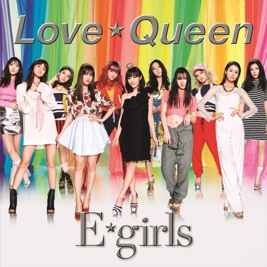 E-girls Love Queen Cover CD DVD