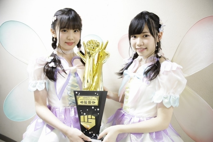 fairy wink hkt48 misaki aramaki hirona unjo