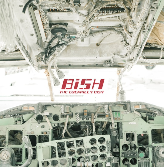 bish the guerilla 2nd major album cover limited