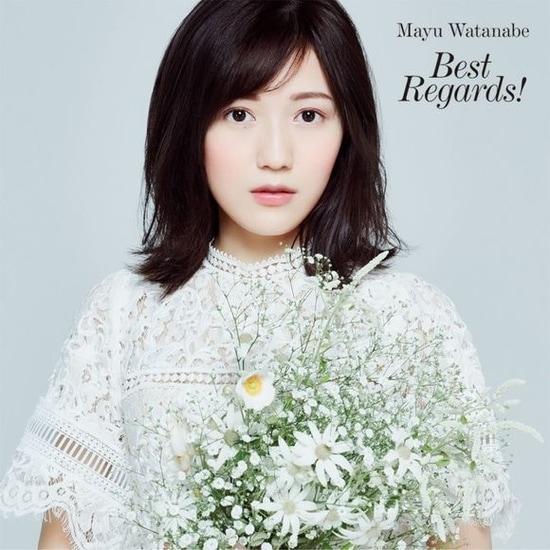 watanabe mayu first solo album cover best regards regular