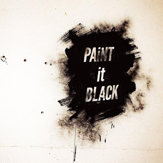 bish paint it black cover