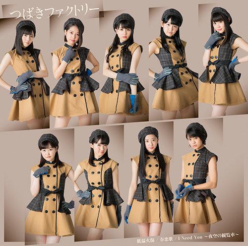 tsubaki factory teion yakedo cover special