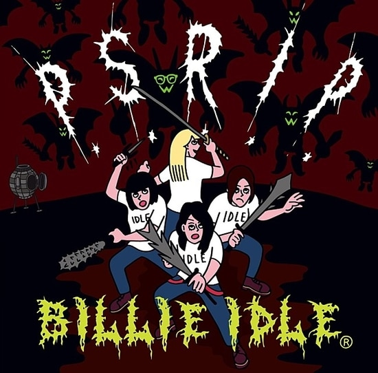 billie idle p.s.r.i.p. cover