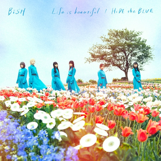 bish life is beautiful hide the blue cover regular
