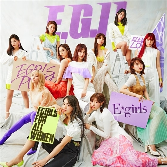e-girls e.g. 11 cover 2cd dvd blu-ray