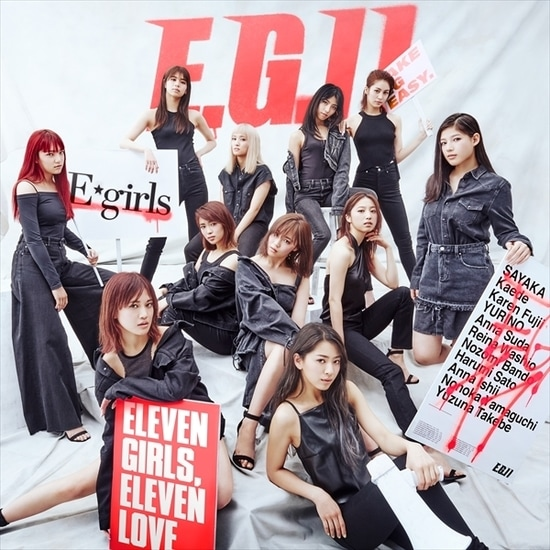 e-girls e.g. 11 cover 2cd