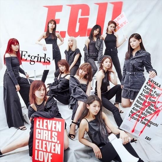 e-girls e.g. 11 cover 2cd
