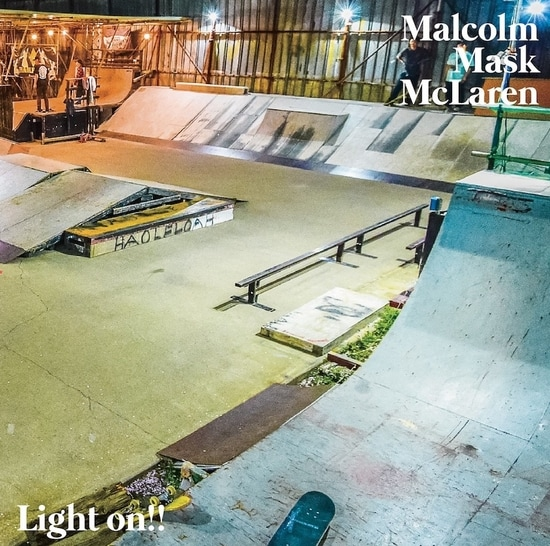 malcolm mask mclaren lights on cover