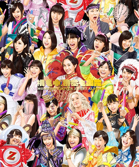 momoiro clover best album cover 3 cds 2 bluray