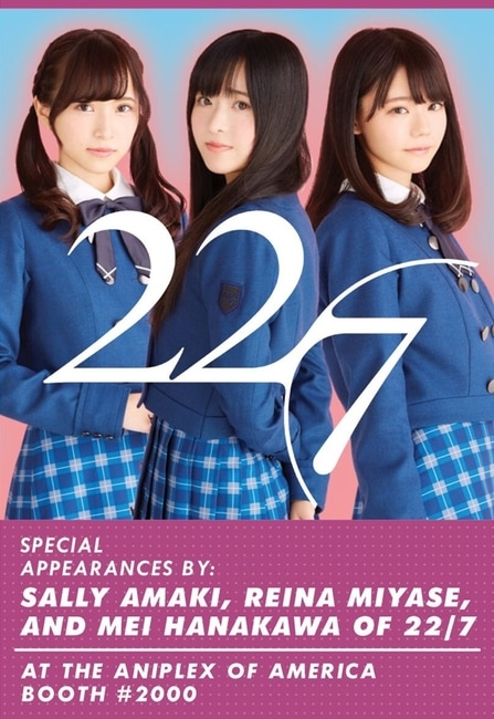 22/7 anime expo 2018