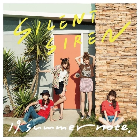 silent siren 19 summer note cover limited