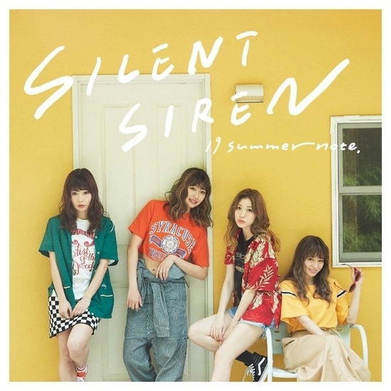 silent siren 19 summer note cover regular