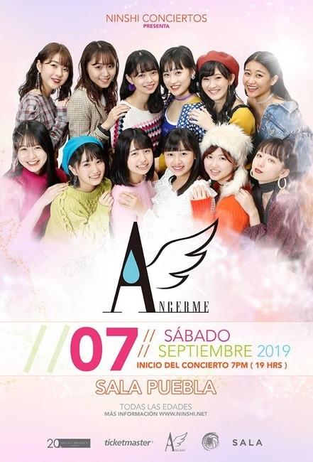 angerme mexico concert 2019