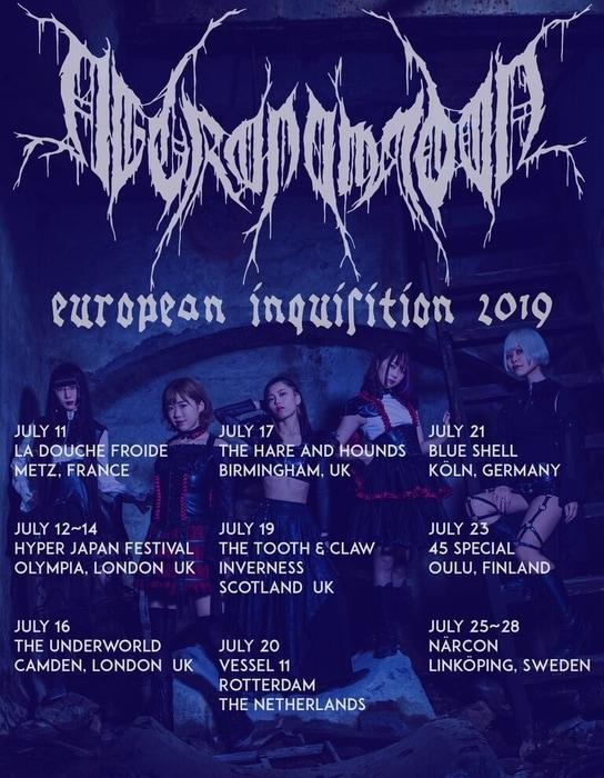 necronomidol european tour 2019