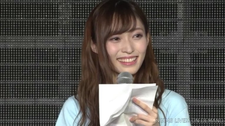 yamaguchi maho graduation ngt48