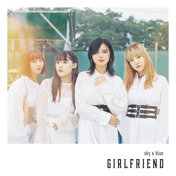 girlfriend sky blue cover limited
