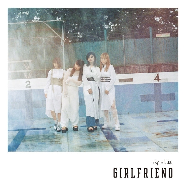girlfriend sky blue cover regular